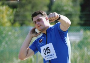 Sam Craven, shot put, paralympics, BORP, track & field, wheelchair sports